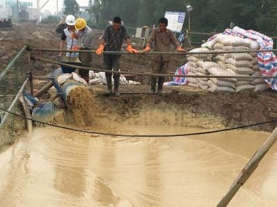 膨润土产生大量优质高比重泥浆