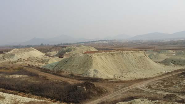 膨润土原矿加工